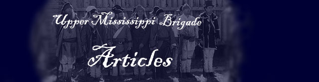Upper Mississippi Brigade articles header